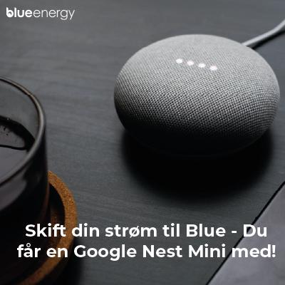 Få en gratis Google Nest til dit Smarthome!